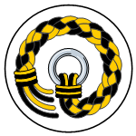 Braided length of rope, ending in a ring